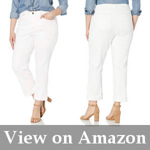 slimming jeans for mature women