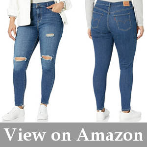 jeans for big waist skinny legs