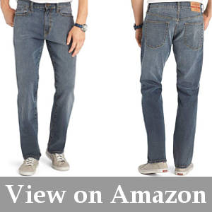 flexible jeans for large thighs men's body type