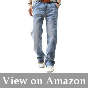 jeans for men with big thighs and round butts