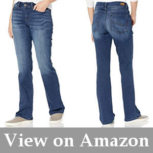 super flexible bootcut jeans