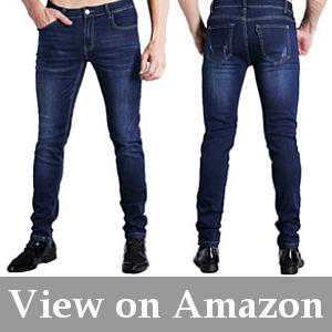 mens ultra low rise stretch jeans