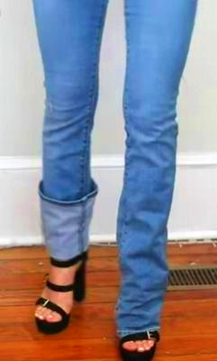 what is slim bootcut jeans