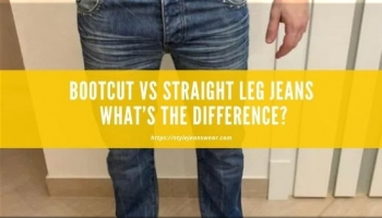 Bootcut vs Straight Leg Jeans: What's the Difference?