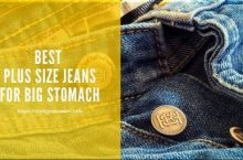 5 Best Plus Size Jeans for Big Stomach