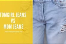 Tomgirl Jeans vs Mom Jeans
